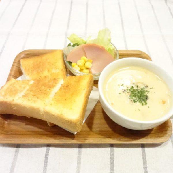 スーププレート (クラムチャウダー)