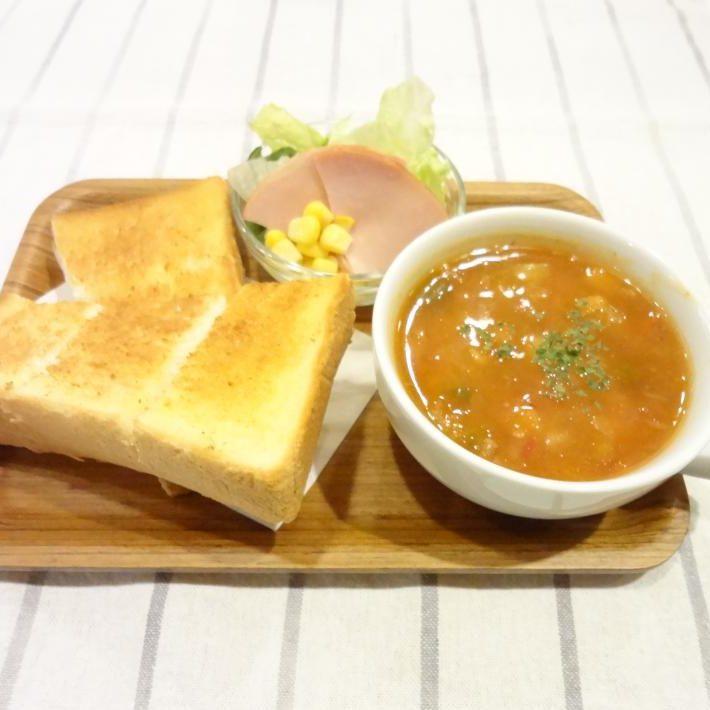 スーププレート(ミネストローネ)